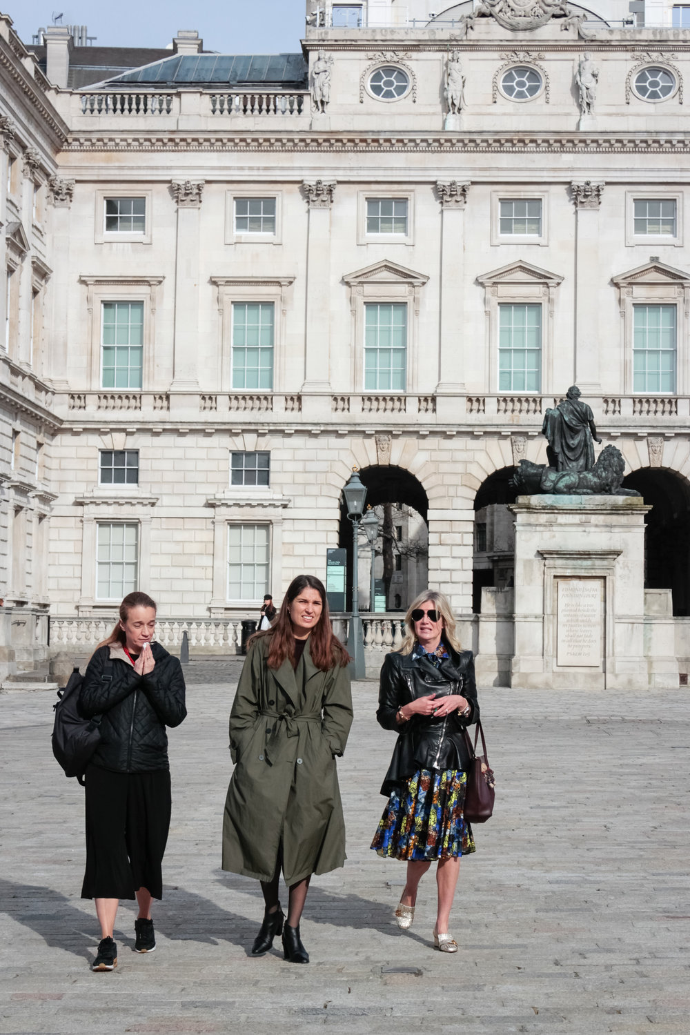 Jade Yesim Turanli, Marine Tanguy & Sigrid Kirk  The Association of Women in the Arts, Galerie Thaddaeus Ropac, Somerset House, 2018