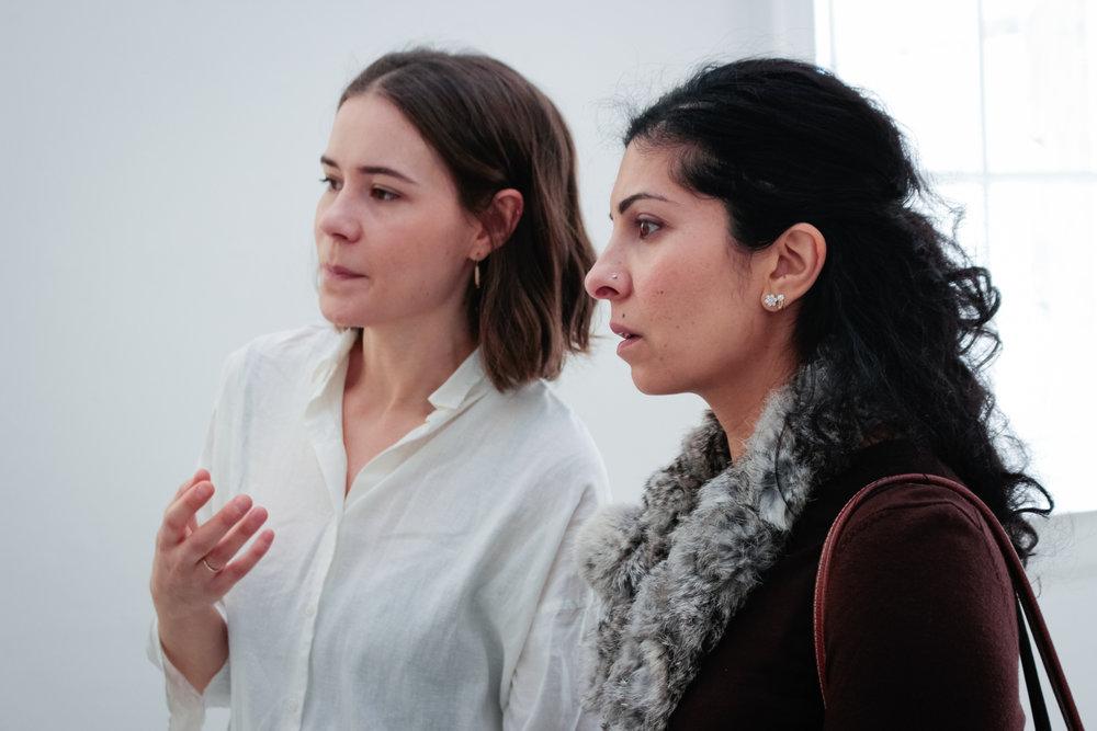 Grace Perrett and Sheetal Varma