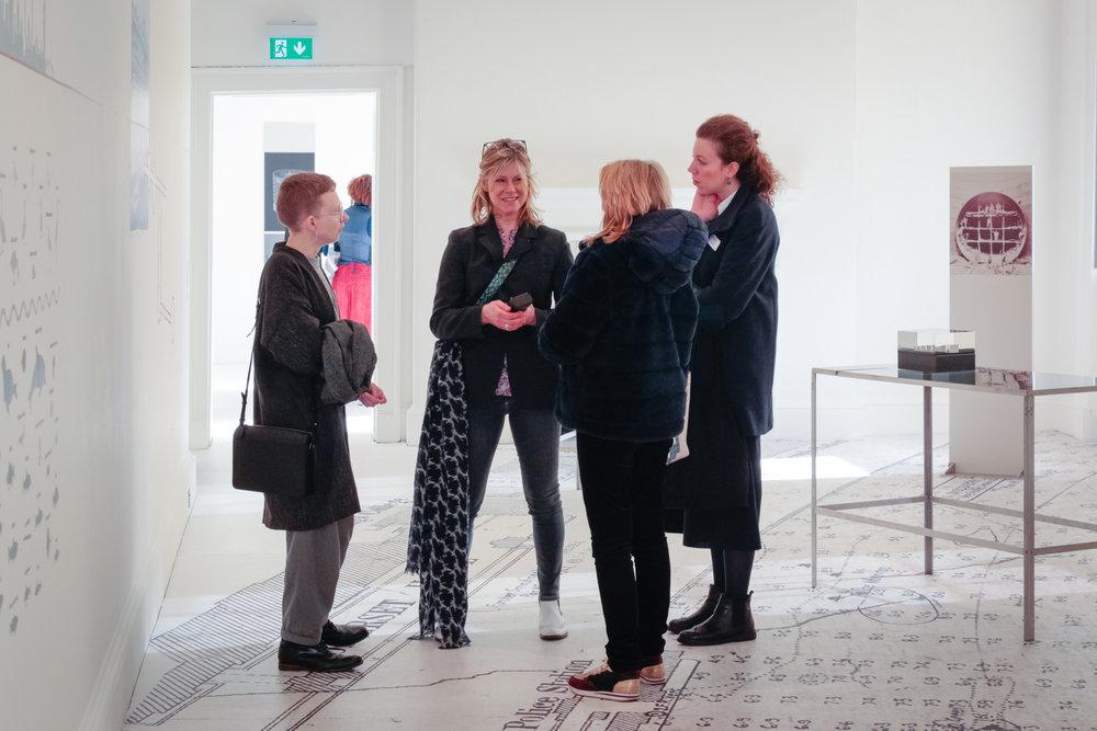 Rosie Wanek, Karen Ashton, Philippa Hogan-Hern and Martina Fusari