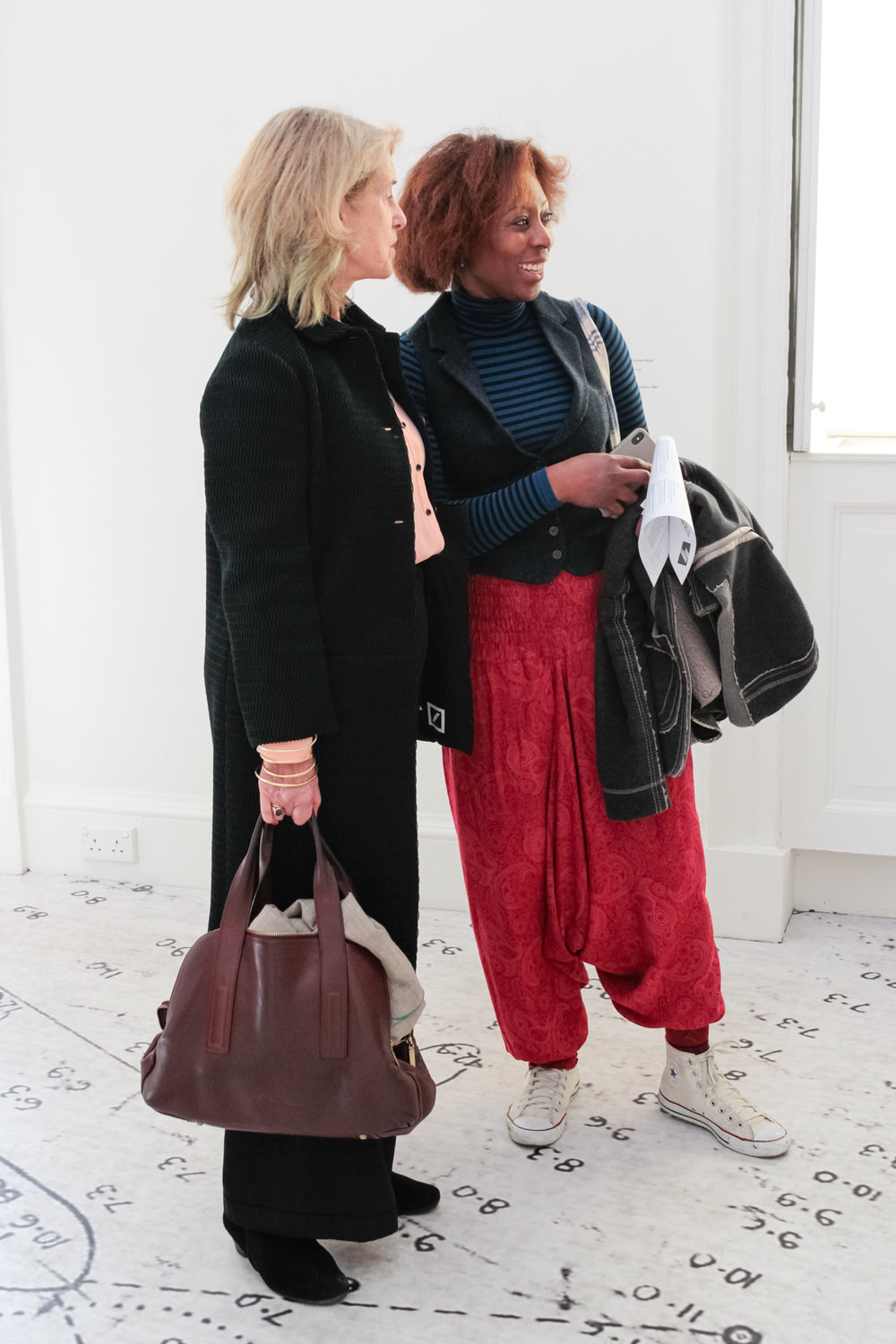 Penny Johnson & Ifeoma Dike  The Association of Women in the Arts, Galerie Thaddaeus Ropac, Somerset House, 2018