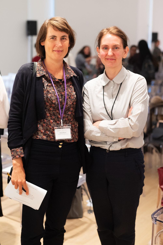 Emily Pethick and Helen Legg