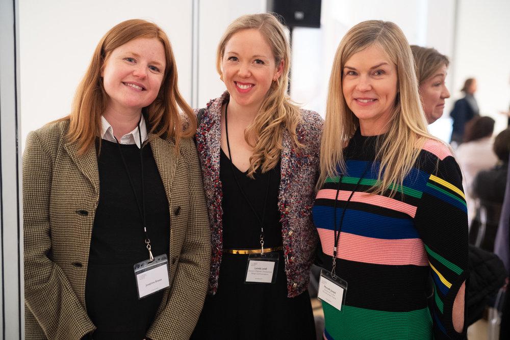 Josephine Breese, Lucinda Lovell and Marcelle Joseph