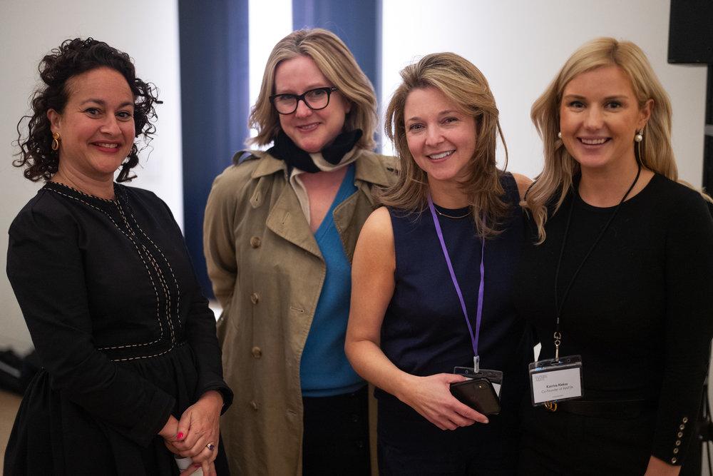 Jasmin Pelham, Kate Gordon and Katrina Aleksa