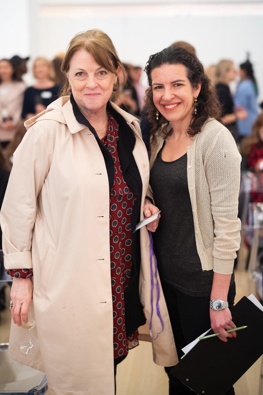 Jan Dalley and Melanie Gerlis