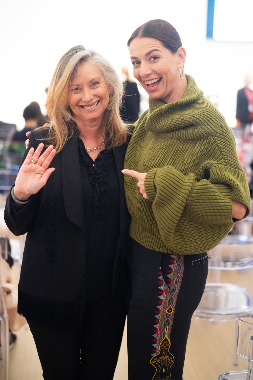 Anita Zabludowicz and Yana Peel