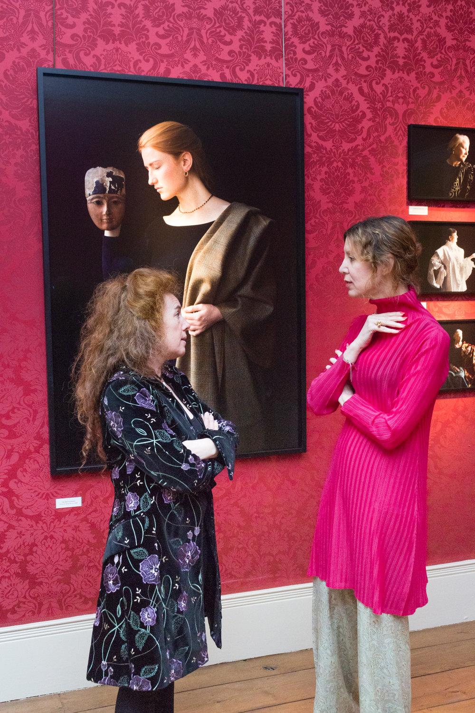 Carla van de Puttelaar and Valeria Napoleone