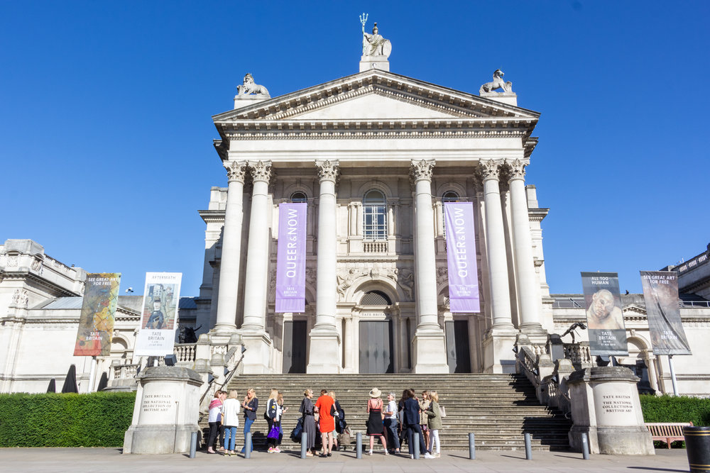 The Association of Women in the Arts, Tate Britain, Royal Academy 2018