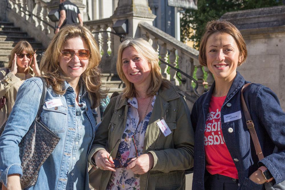 Kate Gordon, Philippa Hogan-Hern & Kami Naglik
