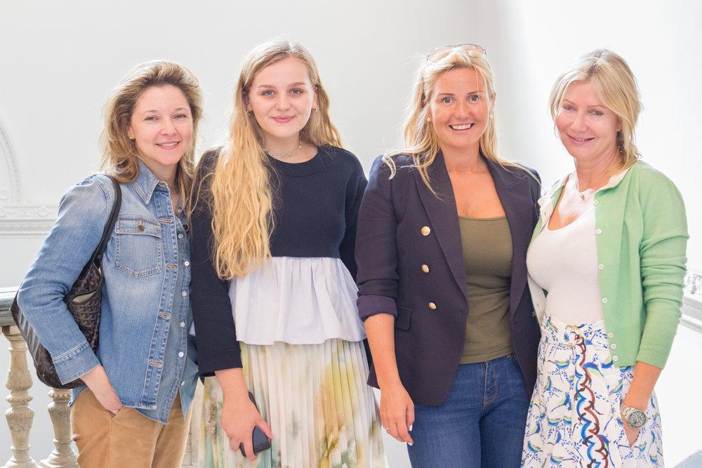 Kate Gordon, Hannah Clynch, Katrina Aleksa & Sigrid Kirk