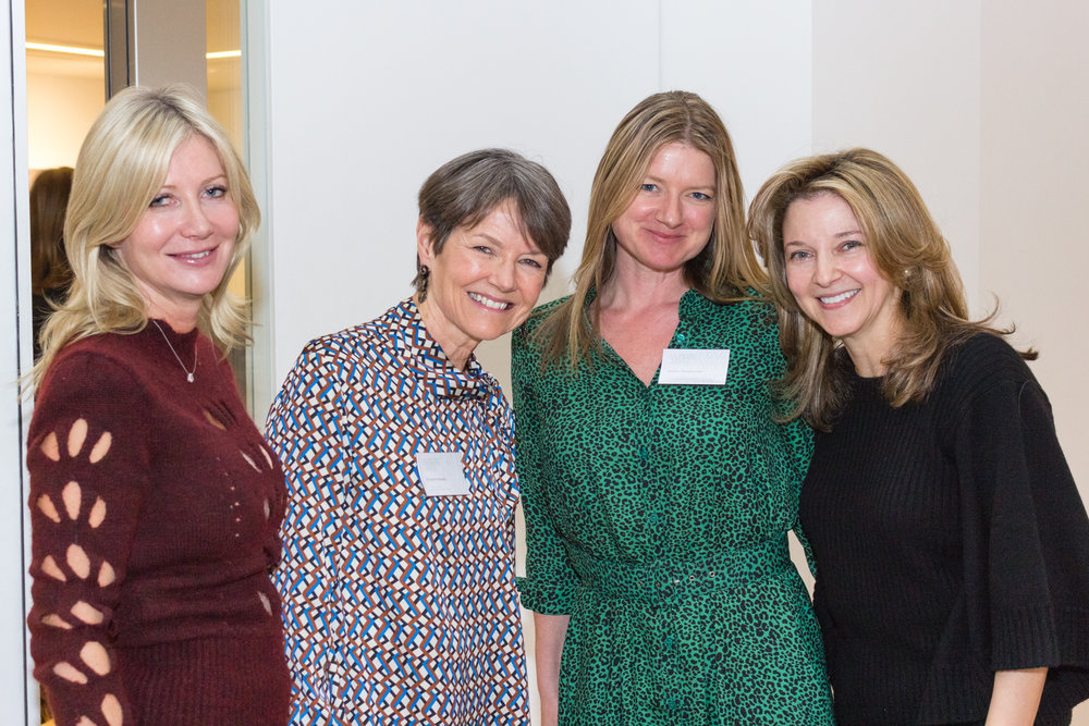 Sigrid Kirk, Elizabeth Brooks, Sophie Macpherson and Kate Gordon