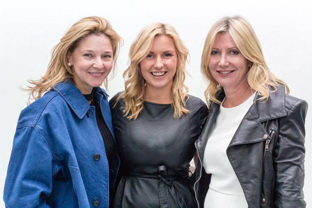 Kate Gordon, Katrina Aleksa and Sigrid Kirk