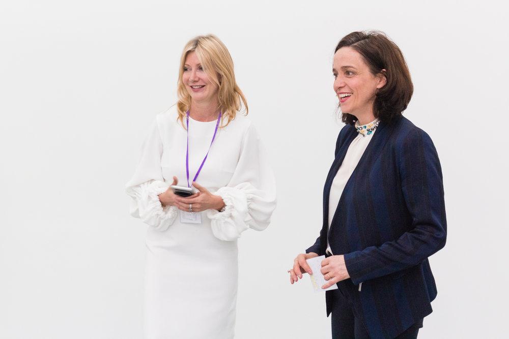Sigrid Kirk and Kate Walker Miles