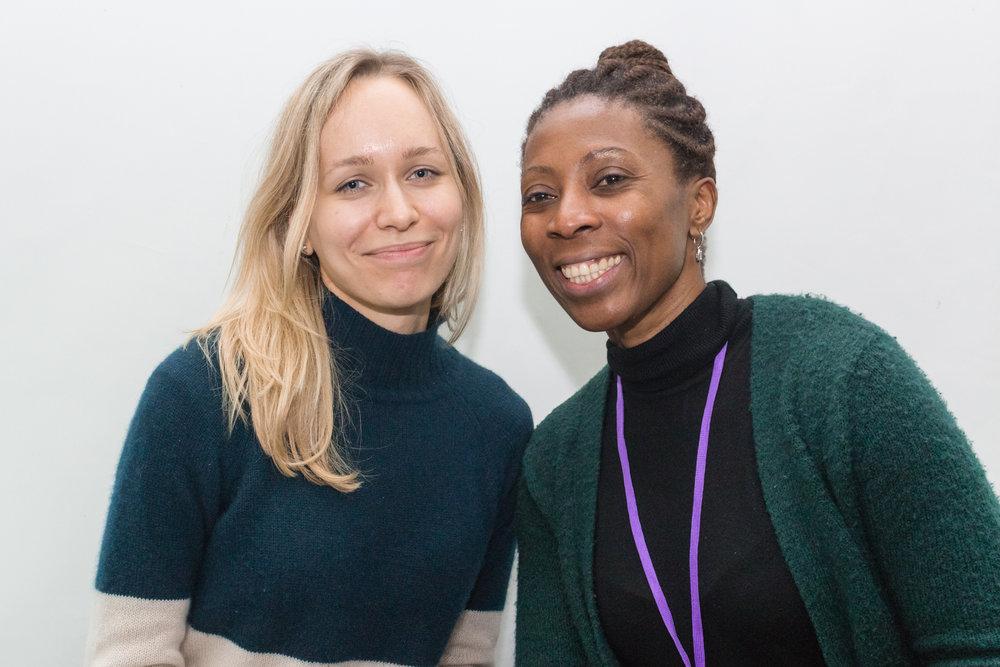 Daria Zlobina and Ifeoma Dike