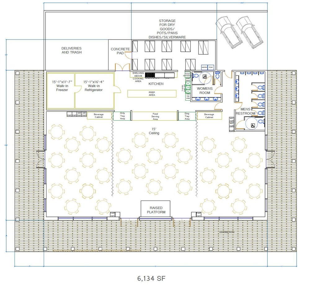 Meeting Hall - Floorplan