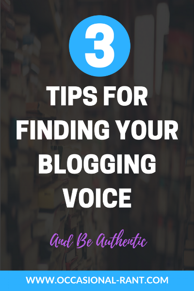 Struggling to be yourself? 3 easy tips to finding your blogging voice to help your readers identify with you!