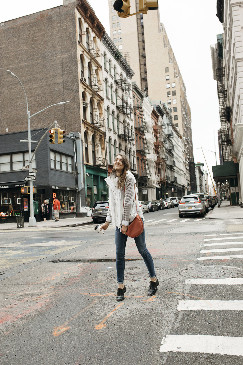 Travel girl and fashionista taking on the big apple, aka New York City