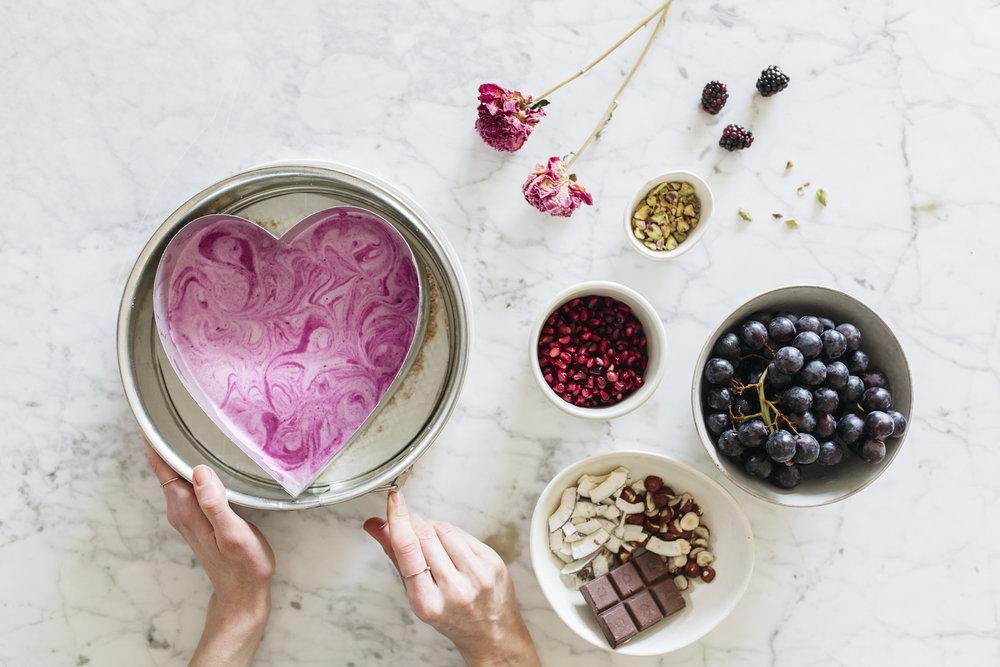 Relationship Talk + Raw Sweetheart Cake #realandraw