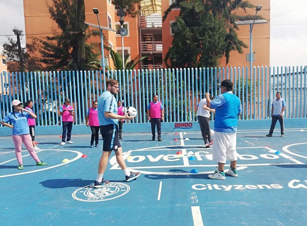 Training sessions at El Coyolito (Gustavo A. Madero, Mexico)