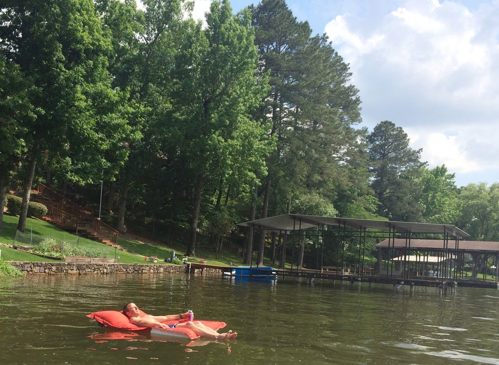 Lazy days on Lake Hamilton