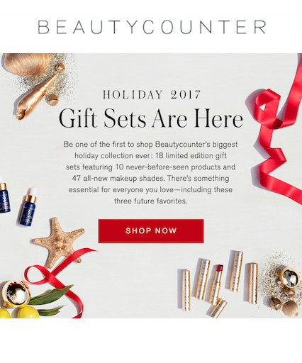 Beautycounter - Holiday Launch 2017