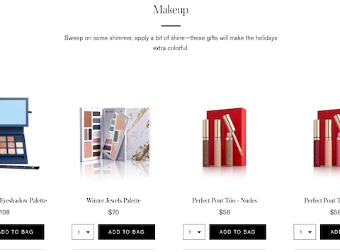 Beautycounter - Holiday Landing Page 2017