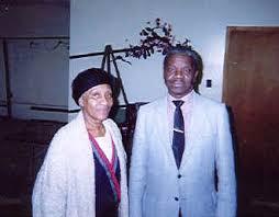 The late Reuben johnson(r) alongside Mother Reid.