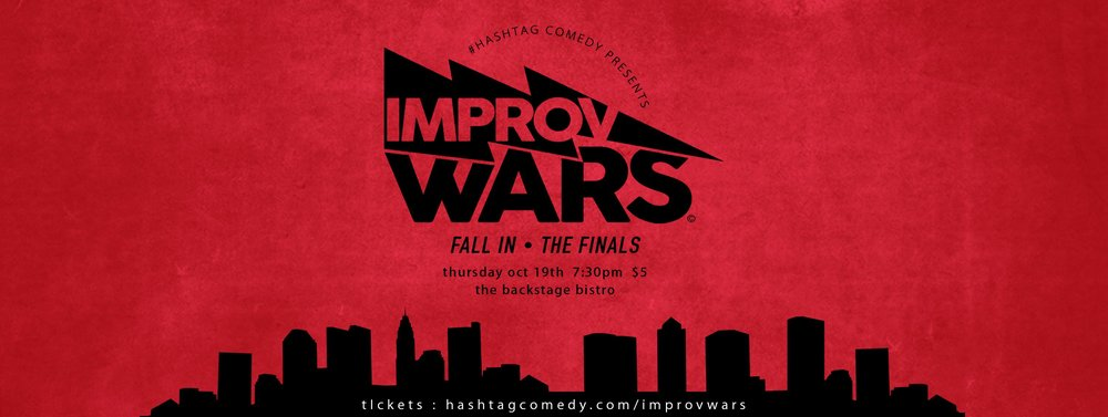 improv wars! fall in - the finals - 10.19 @ 7:30pm // $5 // @ the Backstage BistroJoin us for the finals of this round of Improv Wars!