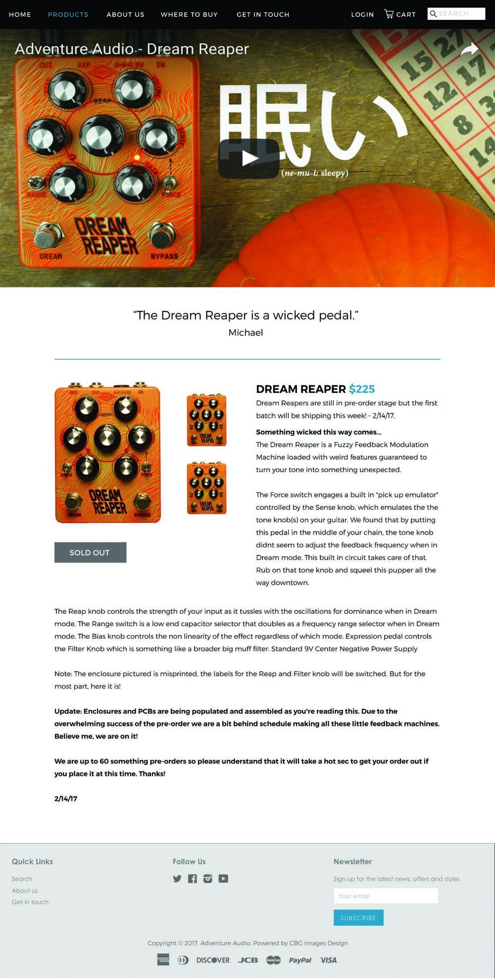 Adventure Audio_UIUX_Product Page_Dream Reaper.jpg