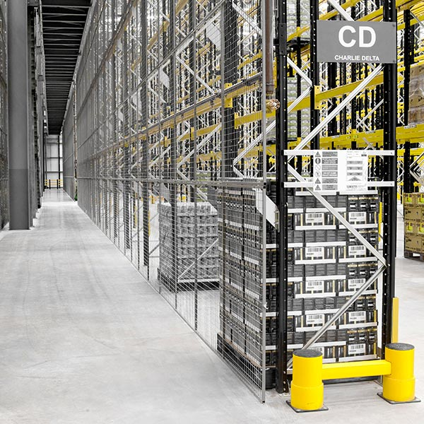 Anti-Collapse Mesh for Pallet Racking