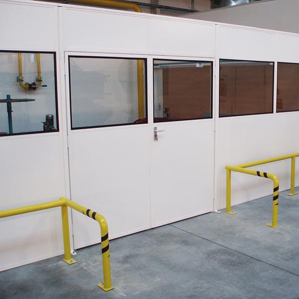 Steel Partitioning Doors