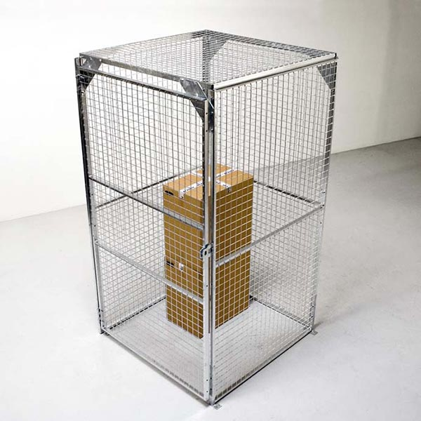 Secure Cages for retail