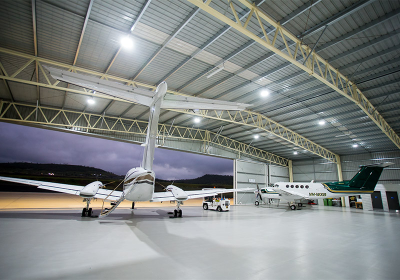 Aircraft presented in immaculate condition at out Wellcamp Hangar