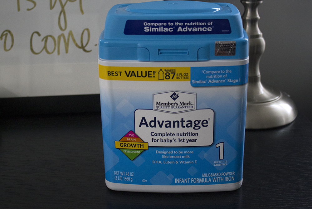 Member's Mark® Advantage® Infant Formula Review
