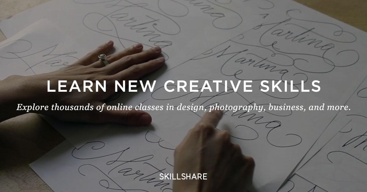Join Skillshare