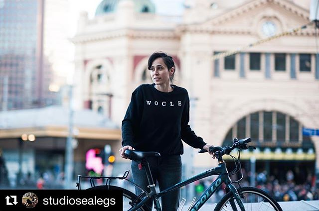 """#Repost @studiosealegs ・・・ """"Feminism isn't about making women strong. Women are already strong. It's about changing the way the world perceives that strength."""" - G.D. Anderson 🚲🚲🚲🚲🚲🚲🚲🚲🚲🚲🚲🚲🚲🚲🚲 A photo of my dear friend Beck who is the Founder of @woclemelb / Wocle is a female owned and operated mobile bicycle service in Melbourne. She is currently in the process of creating a short film about it and I can't wait to hear/see more about Wocle. 💕 • • • • • #wocle #woclemelbourne #bicyles #bikes #melbourne #igersmelbourne #portraitmode #bossphotography"""