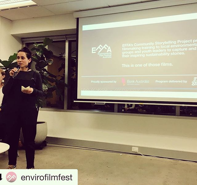 #Repost @envirofilmfest ・・・ Our Community Storytellig Project supported by @bankaust and delivered by @101Storytellers empowers local enviro groups & youth leaders to tell their stories and drive impact through digital content creation. At tonight's mini-masterclass, lots of professional tips and a case study are being shared! We'd like to thank everyone who came to our event tonight. Stay tuned for #EFFA2018 program launch this Thursday! . . . #EFFA2018 #facethefilms #sustainability #environmental #climatechange #waronwaste #greencommunity #conservation #melbourneevents #melbournefilm #flimfestival #environmentalfilm