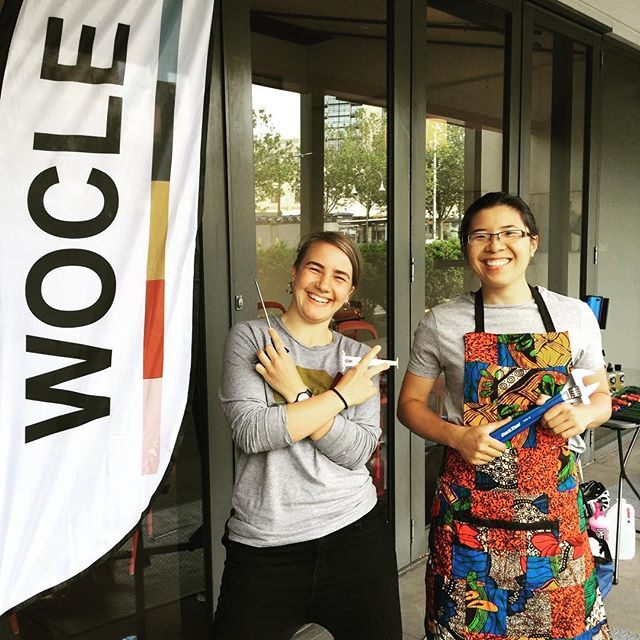 Happy Green Travel Day!  Wocle is back at City of Moonee Valley Council providing bicycle safety checks & basic maintenance to the lovely folk at the Council. Here we have Orlanda and Ange - tools ready to go!  #greentravelday #ridetowork2018 #cityofmooneevalley #bicycles #greentransport #femalemechanics #bicyclemaintence  #melbourne #thisismelbourne