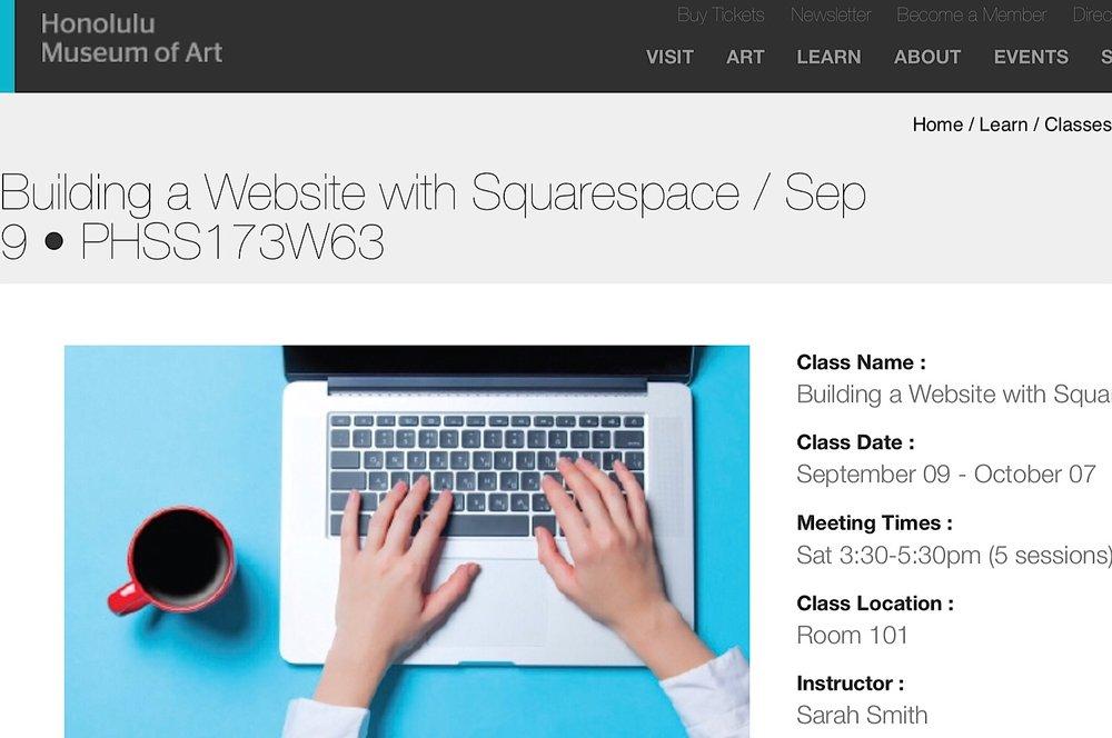 Website Class