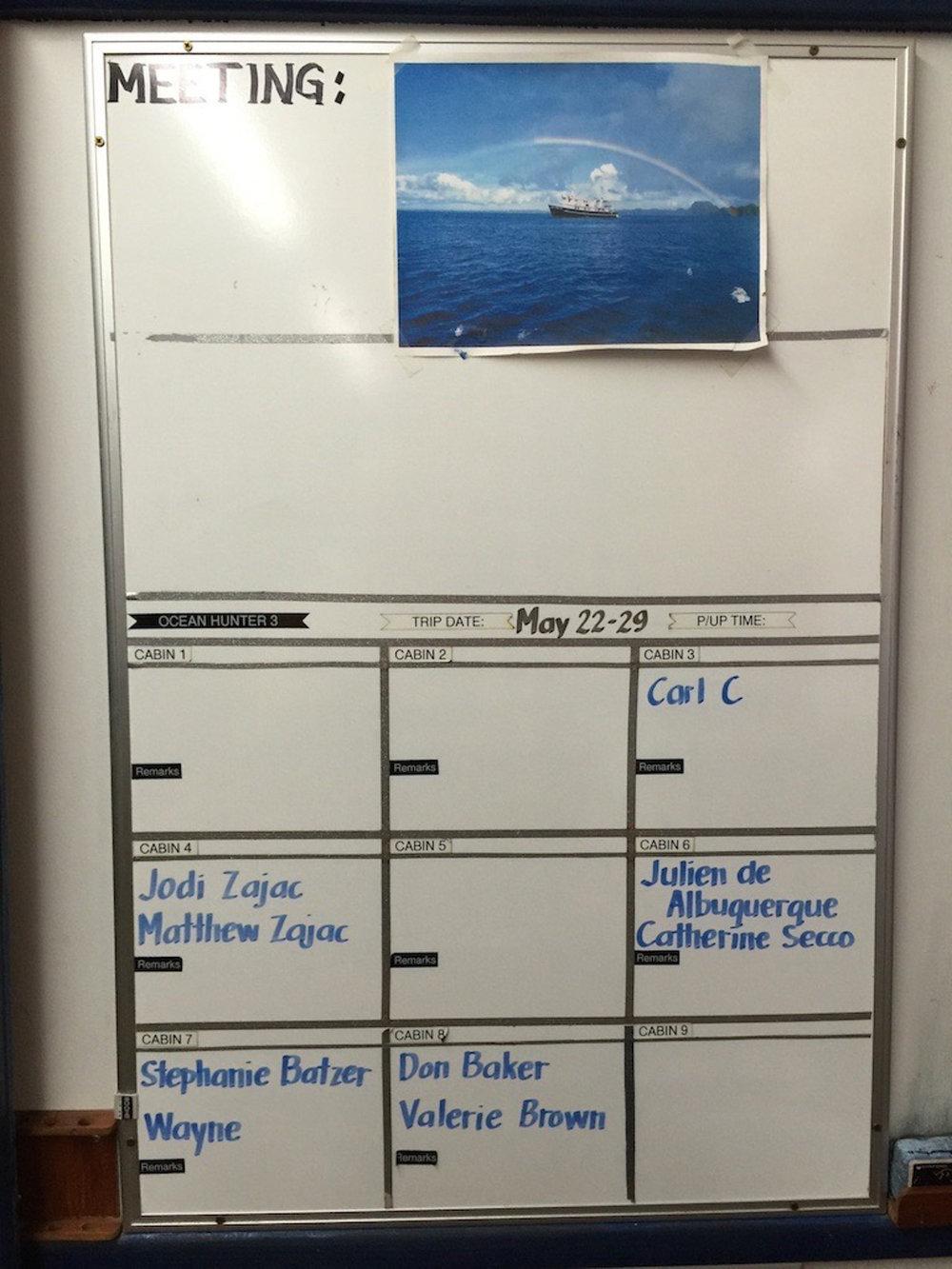 Cabin listing