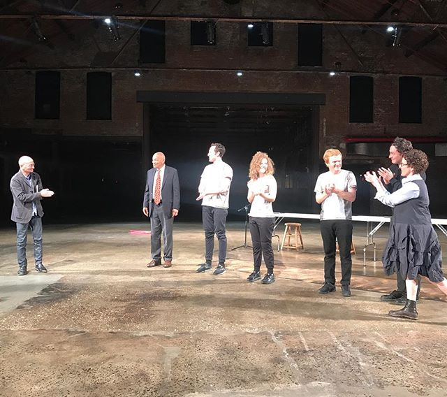 "Thank you to everyone that came out last night to see The Three Matadores. Thank you @knockdowncenter for the amazing support of the show! Two more shows left. Doors open at 7pm for performances at 7:30 Saturday and Sunday. Tickets are $15 in advance, $20 at the door. Student tickets are $10 with code ""STUDENT10"" at checkout. Tickets available here: http://bit.ly/3matadores"