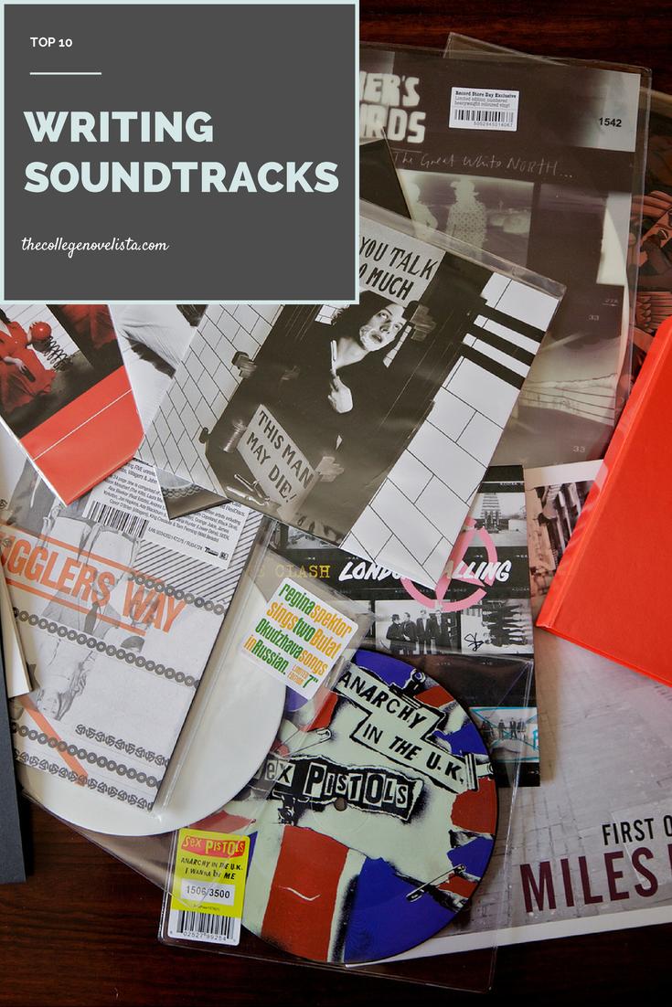 Top 10 Writing Soundtracks