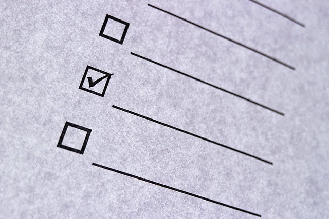 An Editing Checklist -- Consult this list next time you edit your writing. | brianawrites.blogspot.com