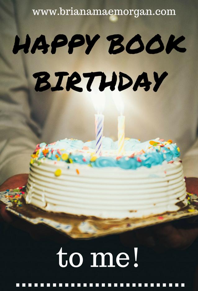 Happy Book Birthday to Me!