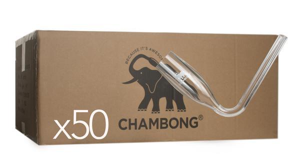 50 Acrylic Chambongs - ON SALE NOW!