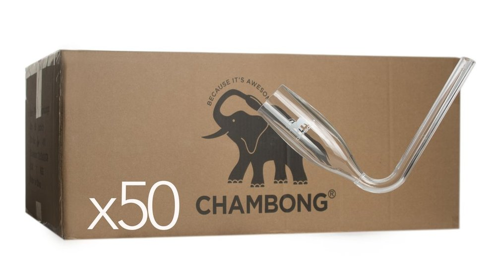 Click here to order the 50-Pack of Acrylic Chambongs
