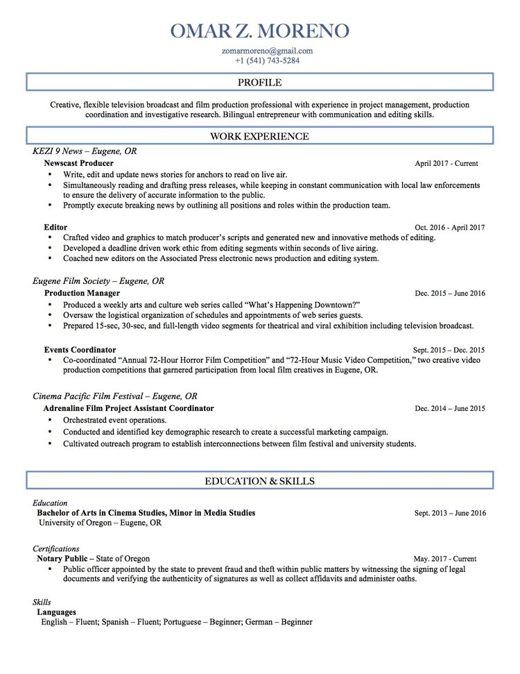 web producer resume snapwit co