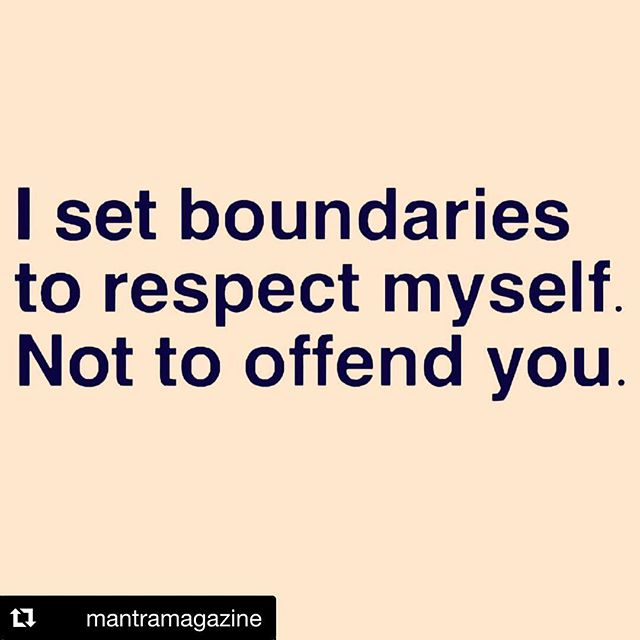"""Boundaries. Who struggles with them? Is it harder for you to put them in place or to honor them?  It's definitely something I've had to work on, and thankfully the big U keeps on sending me new lessons to help strengthen this muscle. Naturally it makes me uncomfortable because I was taught to be kind and nice to everyone...I missed the part about everyone who respects you and is deserving. So rewiring this belief feels like I'm excluding others and being """"mean"""" even though I know I'm not. So I keep on practicing and one day I'll really own it and won't even remember this post 😉 Who can relate??"""