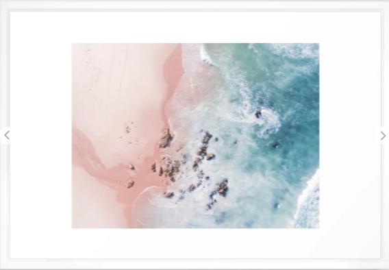 """SEA BLISS"" 26x38 $168.99"