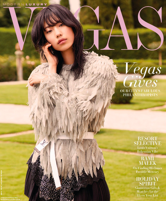 we love covering las vegas style for you - Read our our latest piece for VEGAS | Nov 2018