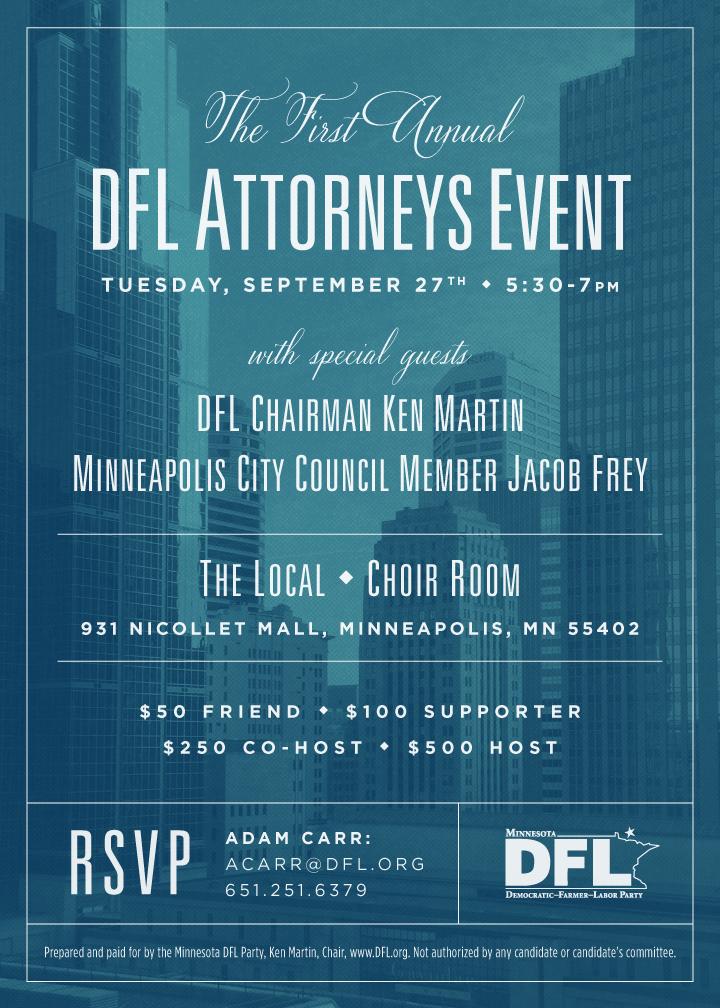 DFL Attorneys Event